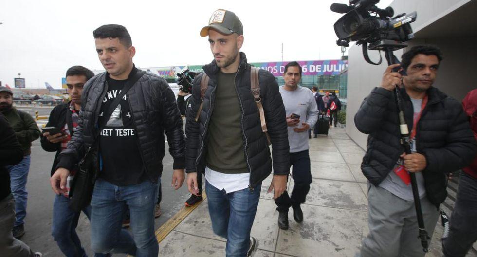 Alianza Lima: fFederico Rodríguez ya está en Lima. (Fotos: Jesús Saucedo/GEC)