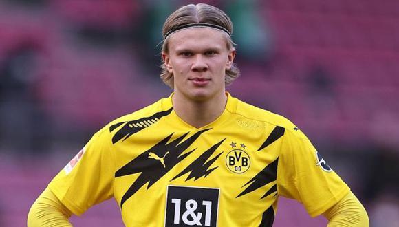 Erling Haaland llegó al Borussia Dortmund en la temporada 2019. (Foto: Agencias)