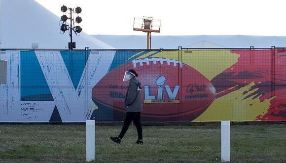 Super Bowl 2021: horarios, fecha y canales de la final de NFL desde el Raymond James Stadium de Florida. (Foto: EFE)