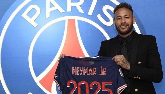 Neymar finalizaba su contrato con PSG en junio del 2022. (Foto: PSG)