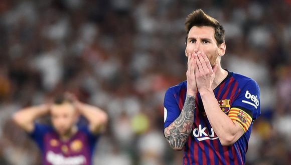 Lionel Messi tiene contrato en el Barcelona hasta junio de 2021. (AFP)