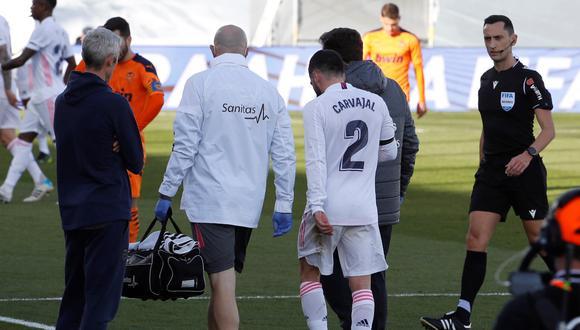 Dani Carvajal se recupera y apunta al Liverpool y FC Barcelona. (Foto: EFE)