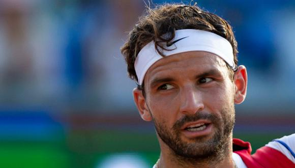 Dimitrov fue el primer jugador de la élite del tenis en anunciar que tenía coronavirus. (Foto: Getty Images)
