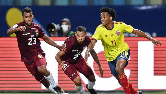 Colombia empató 0-0 con Venezuela en la segunda fecha del grupo B de la Copa América. (Foto: AFP)
