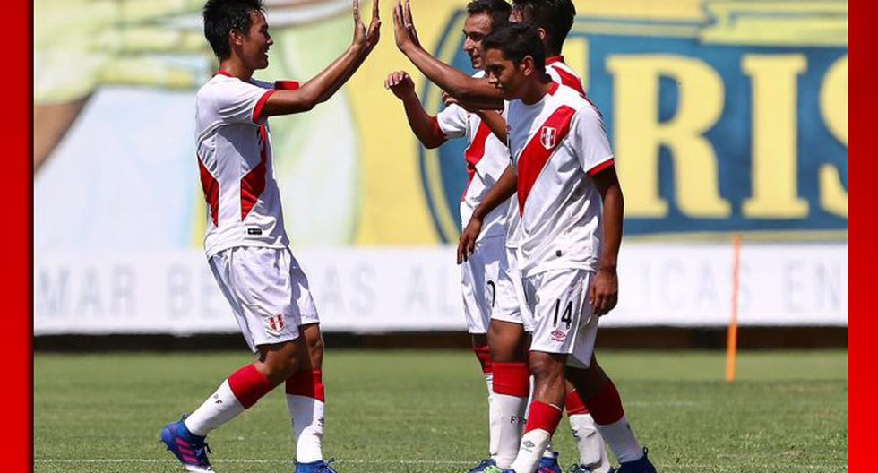 Selección Peruana Sub 17 ganó 3-0 a Bolivia en su último amistoso previo al Sudamericano.