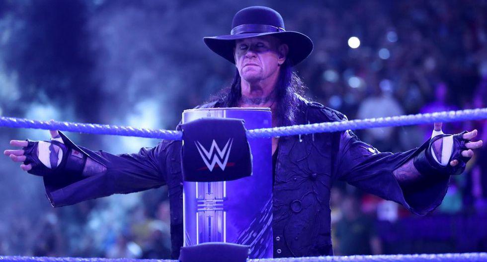 'Taker' concluye su carrera con un récord de 25 victorias y 2 derrotas en WrestleMania. (Foto: WWE)