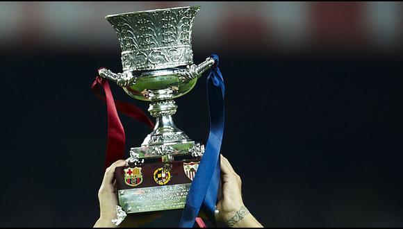 La Supercopa de España se disputará en Arabia Saudita. (Getty Images)