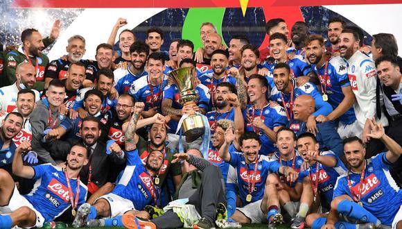 Napoli campeón de la Copa Italia por sexta vez en su historia. (Reuters)
