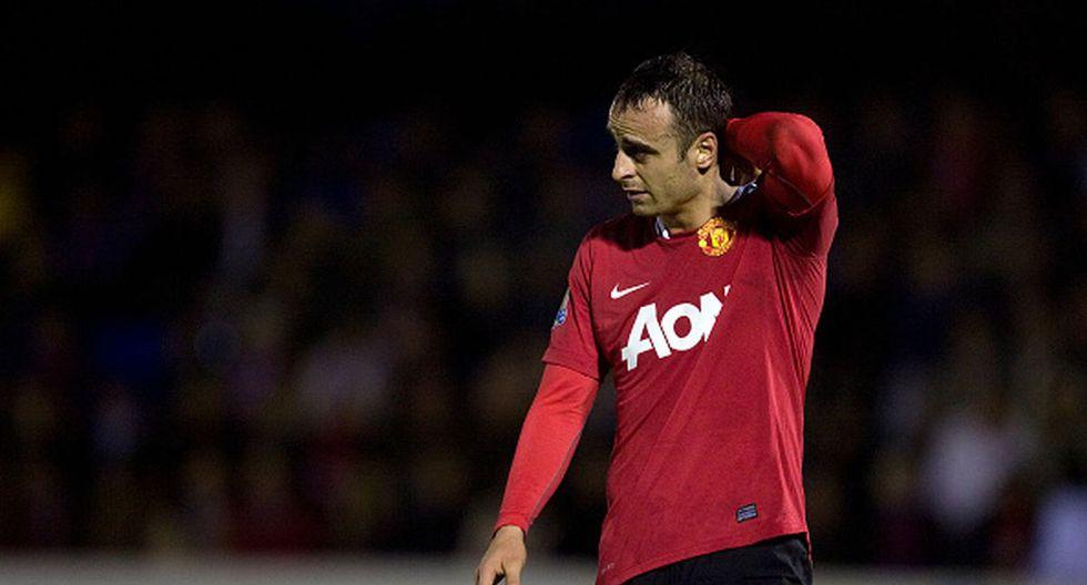 Dimitar Berbatov jugó en el United entre 2008 y 2012. (Getty)