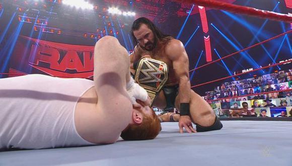 Drew McIntyre defenderá el título de WWE dentro del Elimination Chamber. (WWE)