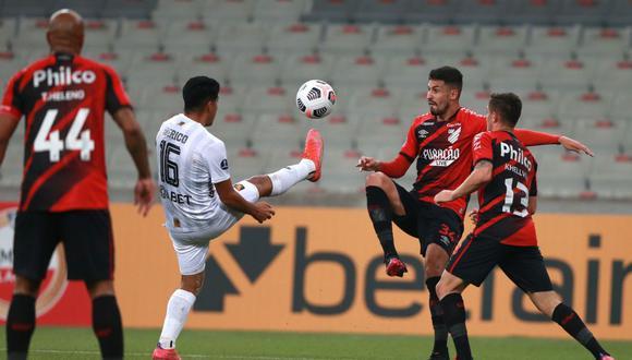 Melgar perdió 1-0 ante Athletico Paranaense por Copa Sudamericana.