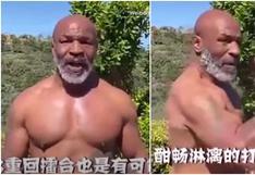 ¡Y tiene 53 años! Mike Tyson mostró su envidiable estado físico e impresionó a todos con brutal ráfaga de golpes [VIDEO]
