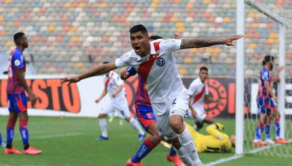 Luis Cardoza marcó el segundo gol de Deportivo Municipal. (Foto: Liga de Fútbol Profesional)