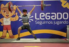 Desde la Videna: Perú gana medallas en Torneo Internacional Virtual de Levantamiento de Pesas
