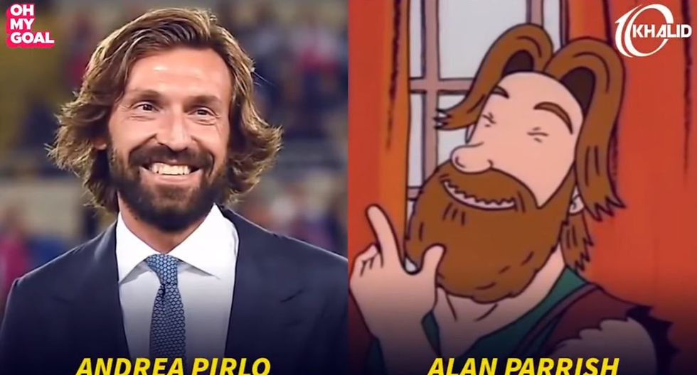 Andrea Pirlo. (Foto/Captura: YouTube)