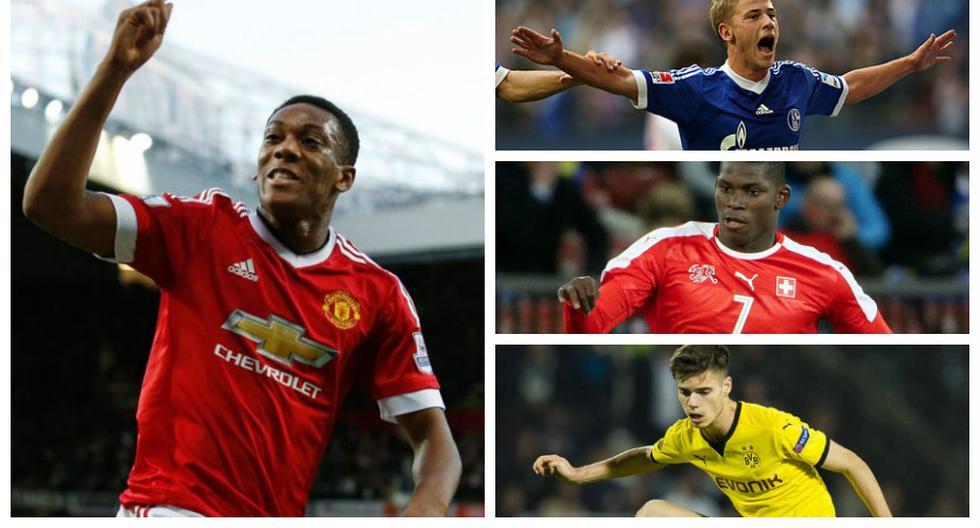 Los 10 jugadores menores de 21 años más valiosos del mundo del fútbol. (Agencias)