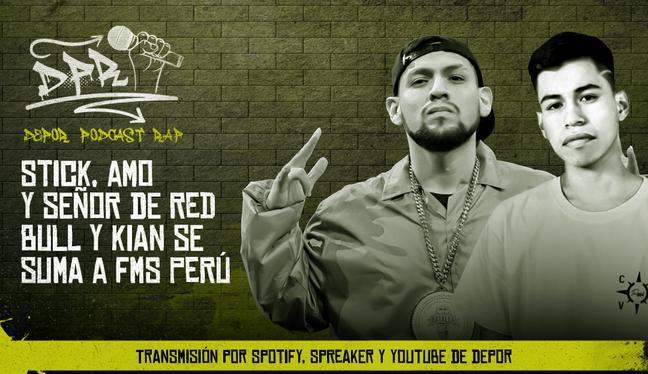 Stick, amo y señor de Red Bull y Kian se suma a FMS Perú