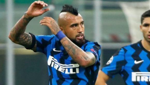 Arturo Vidal llegó esta temporada al Inter procedente del Barcelona. (Foto: AFP)