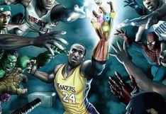 Kobe Bryant muere: el día que formó parte de los 'Avengers' de Marvel