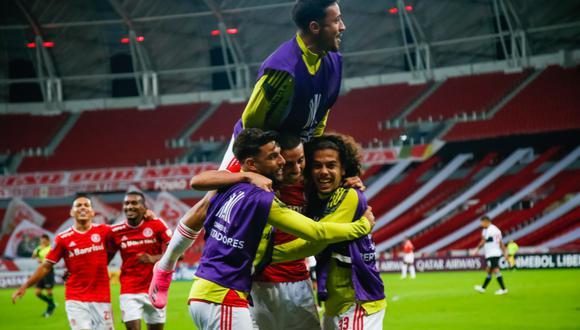 Inter de Porto Alegre goleó a Olimpia por Grupo B de Copa Libertadores. (Foto: Conmebol)