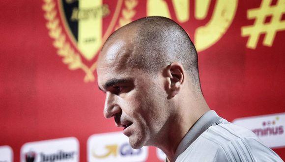 Roberto Martínez dirige a la selección de Bélgica desde el 2016. (Foto: AFP)