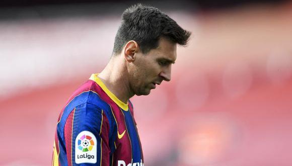 Lionel Messi dejó Barcelona tras 21 años y deberá buscar nuevo equipo. (Foto: AFP)