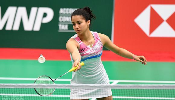 """Fernanda Saponara: """"Mi objetivo inmediato es participar en los Juegos Panamericanos Juveniles de Cali 2021″. (Bádminton Perú)"""