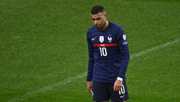 Kylian Mbappé es señalado por la última presentación con la selección francesa. (Foto: AFP)