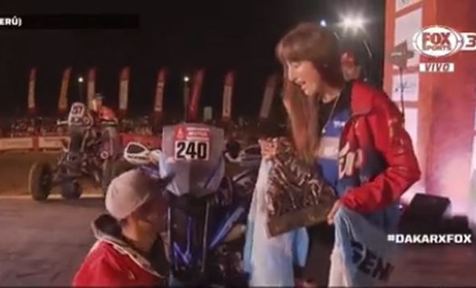 Nicolás Cavigliasso dominó de principio a fin el Dakar 2019. (Captura: Fox Sports)