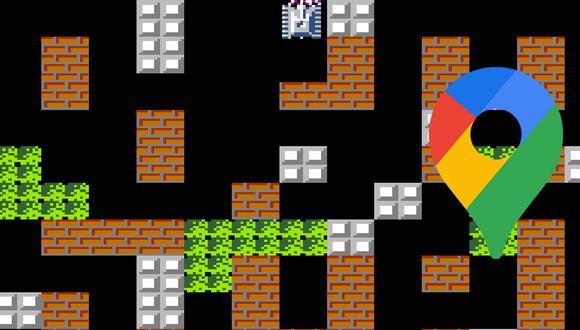 Mira el sencillo truco para poder jugar Battle City, el juego de tanques de Nintendo en Google Maps. (Foto: Nintendo)