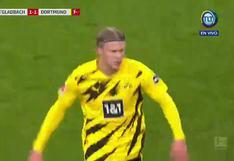 Haaland se lució con dos golazos para doblete en la Bundesliga [VIDEO]