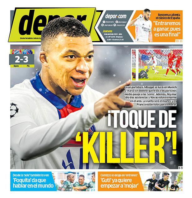¡Toque de 'Killer'!