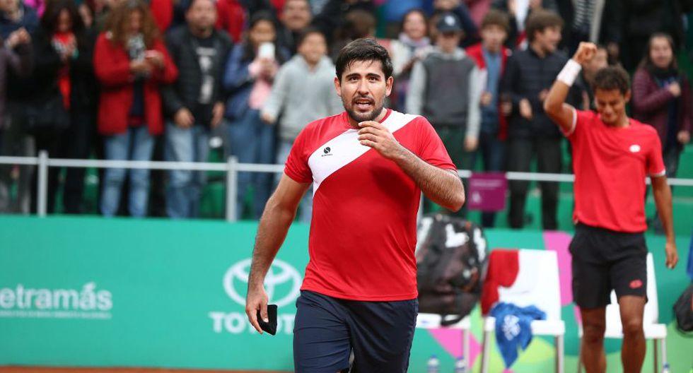 "Sergio Galdos se alista para la Copa Davis 2020: ""Sin Roger Federer, ni Stan Wawrinka, la serie esta 50 y 50"". (Giancarlo Ávila/GEC)"