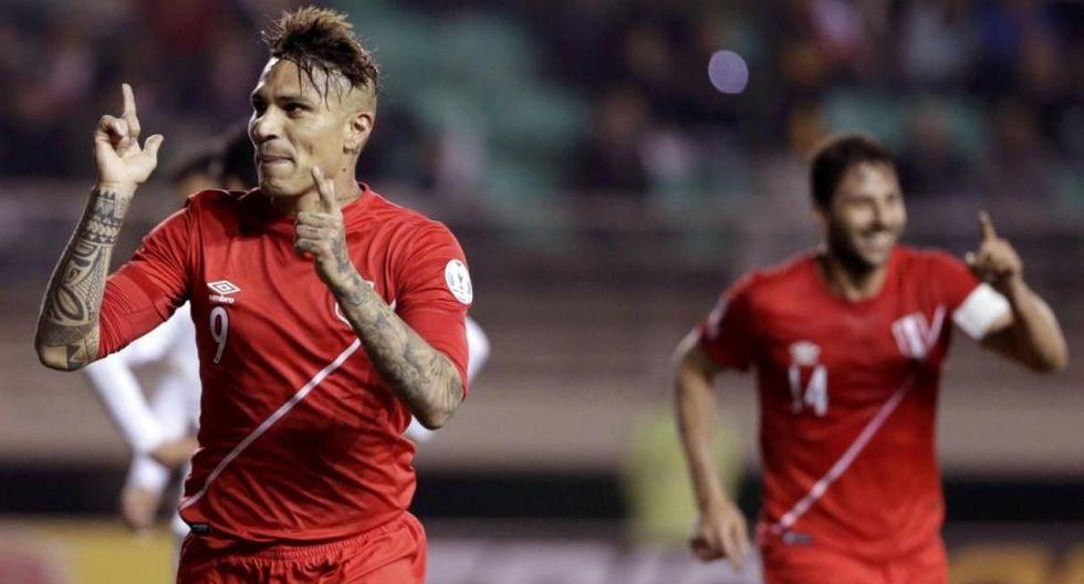 Perú vs. Chile | Guerrero hizo 4 goles en Copa América 2015 (Foto: Internet / Agencias / Getty Images)