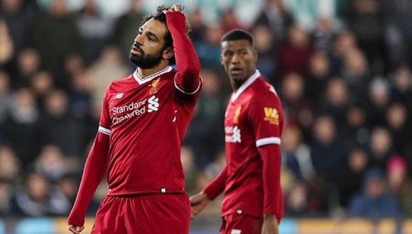 Mohamed Salah ganó una Champions League con Liverpool. (AP)