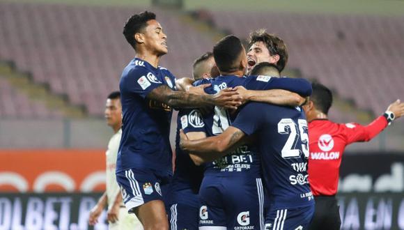 Sporting Cristal le ganó 2-1 a Universitario en la primera final. (Foto: Liga 1)