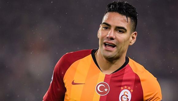 Radamel Falcao llegó en el 2019 al Galatasaray de Turquía. (Foto: Getty Images)