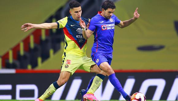 América vs. Cruz Azul se midieron por la fecha 15 de la Liga MX 2021 este sábado (Foto: @CruzAzul)