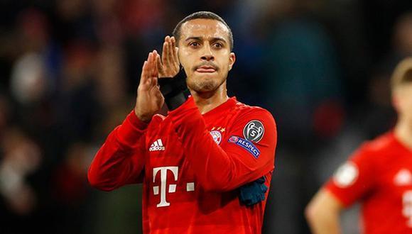 Thiago Alcántara podría quedarse en Bayern. (Foto: AFP)