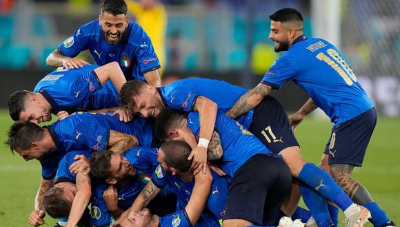 Italia goleó 3-0 a Suiza y es líder absoluto del Grupo A de la Eurocopa 2021. (Agencias)
