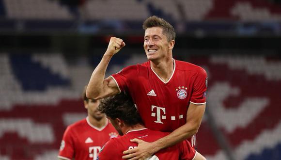 Con un doblete de Lewandowski, Bayern Munich venció 4-1 a Chelsea FC.