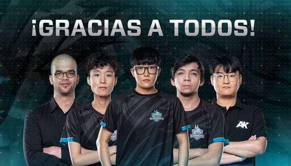 "League of Legends: ""voy al ejército"", declara 'Nova' tras su salida de All Knights. (Foto: All Knights)"