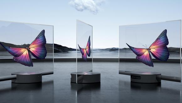 Así es el nuevo televisor de Xiaomi que es totalmente transparente. ¿Cuánto cuesta? (Foto: Xiaomi)