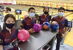 Seleccionados de bowling se preparan en Videna tras lograr clasificación histórica a Cali 2021