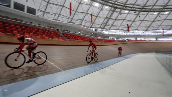 El velódromo de la VIDENA recibirá el Campeonato Nacional de Ciclismo. (Foto: Legado Lima 2019)