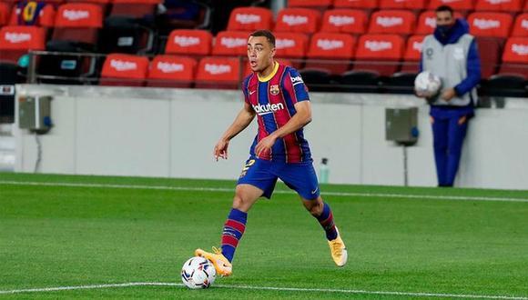 Sergiño Dest firmó contrato con Barcelona hasta el 2025. (Foto: FC Barcelona)