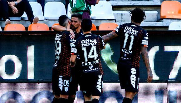 Franco Jara le dio el triunfo al Pachuca sobre Puebla en condición de local. (Foto: ESPN)