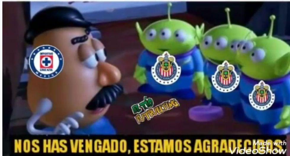 Cruz Azul venció 5-2 del América en el Azteca por el Apertura 2019 Liga MX y los memes ya tomaron las redes sociales.