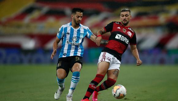 A cuartos de final: Racing eliminó a Flamengo de la Copa Libertadores. (Agencias)