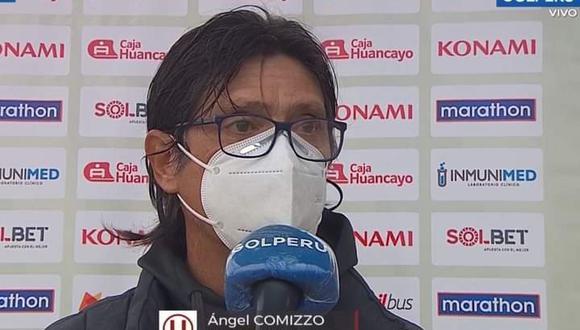 Ángel Comizzo todavía no se siente campeón del Torneo Apertura. (Foto: GOLPERU)